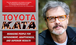 Cover Toyota Kata and author Mike Rother