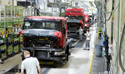 Production within Scania